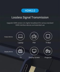 Hagibis HDMI Extension Cable 4K 3D HDMI2.0 male to female extender lossless signal transmission
