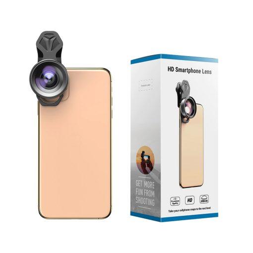 APEXEL HD Camera Phone Lens kit 120 degree 4K Wide angle 10x macro lens 08
