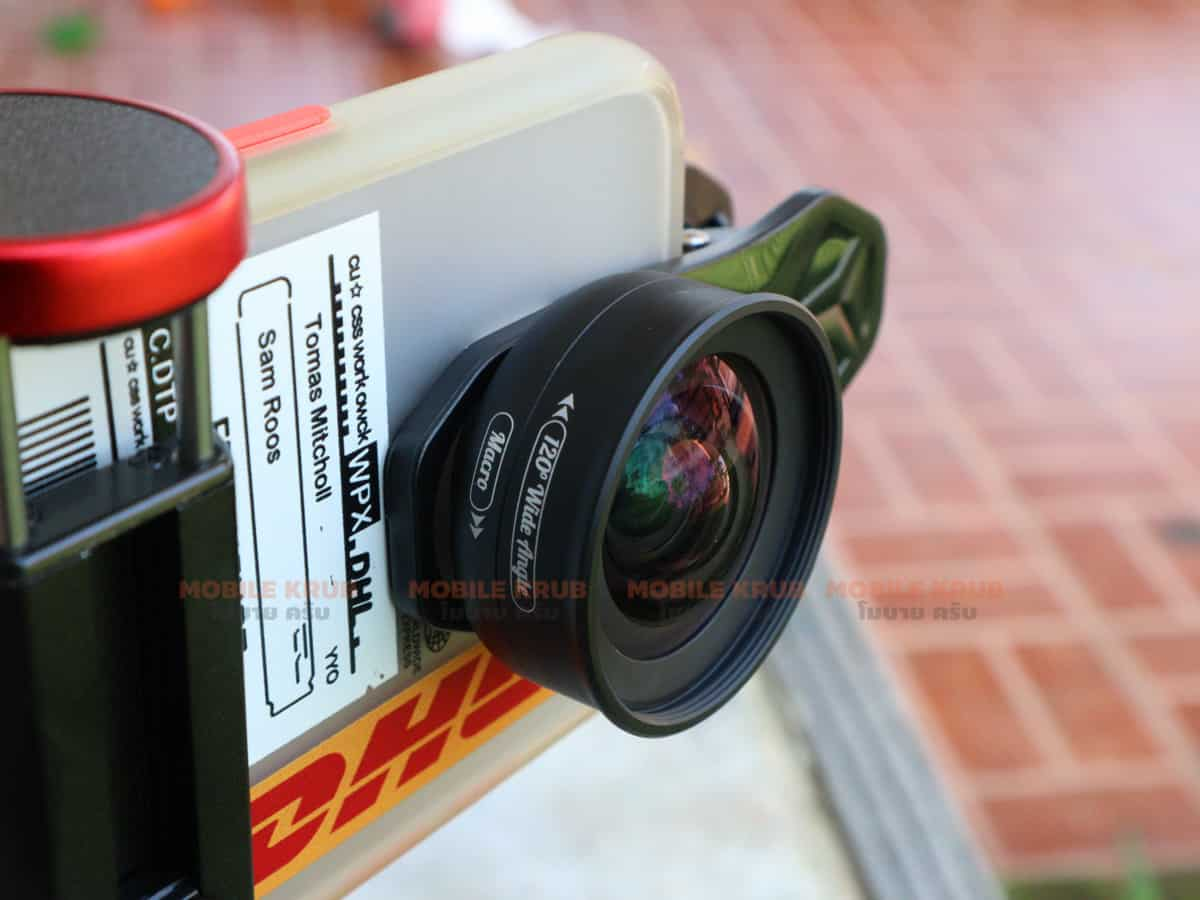 APEXEL HD Camera Phone Lens kit 120 degree 4K Wide angle 10x macro lens real product 08