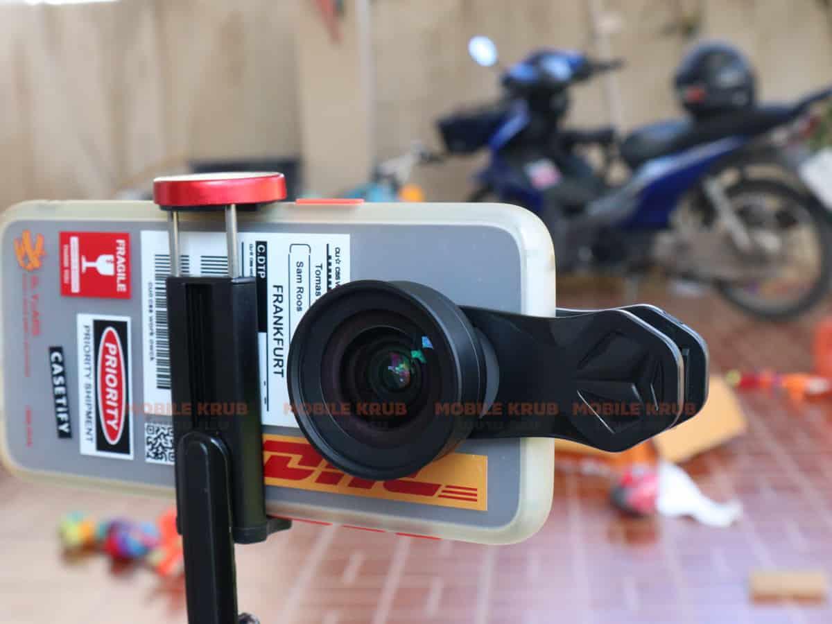 APEXEL HD Camera Phone Lens kit 120 degree 4K Wide angle 10x macro lens real product 09