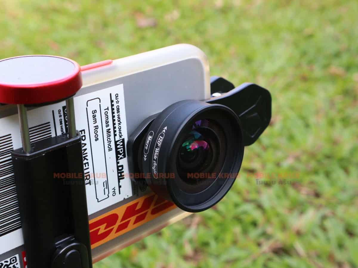 APEXEL HD Camera Phone Lens kit 120 degree 4K Wide angle 10x macro lens real product 10