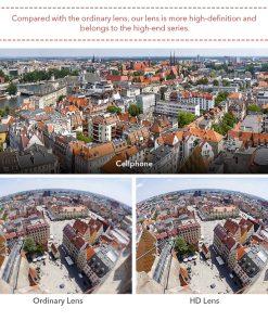 APEXEL optic phone lens HD 170 degree super wide 06