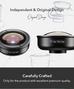 APEXEL optic phone lens HD 170 degree super wide 07
