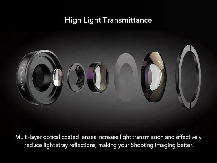 APEXEL optic phone lens HD 170 degree super wide 09