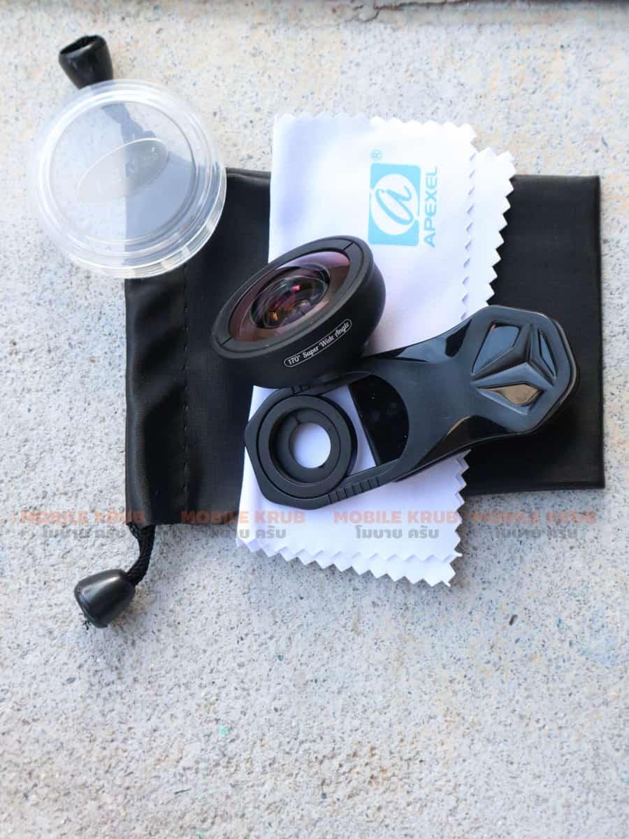 APEXEL optic phone lens HD 170 degree super wide Real Product 03
