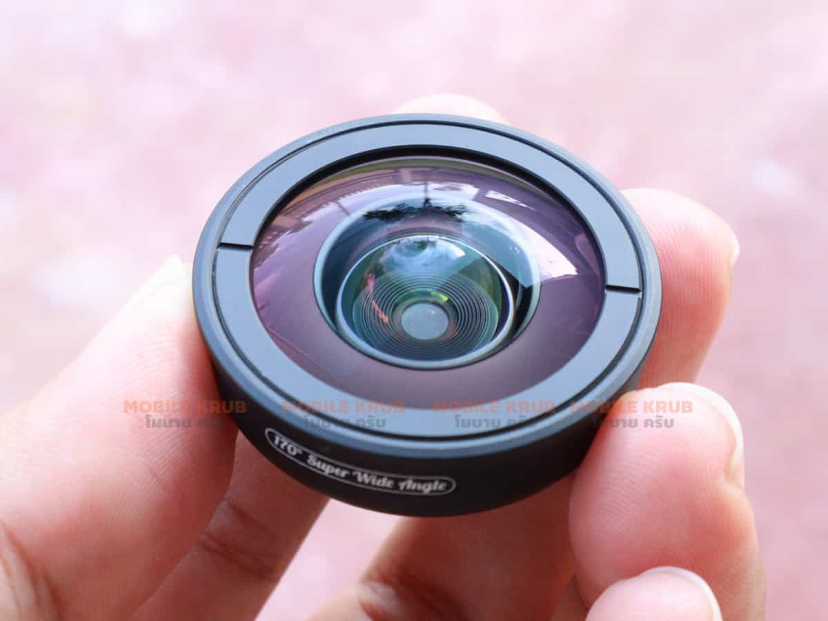 APEXEL optic phone lens HD 170 degree super wide Real Product 05