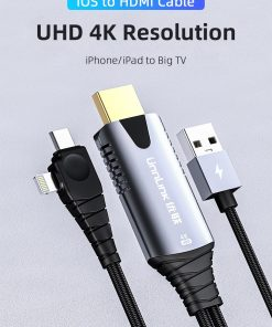 4K iOS To HDMI Cable Display 01