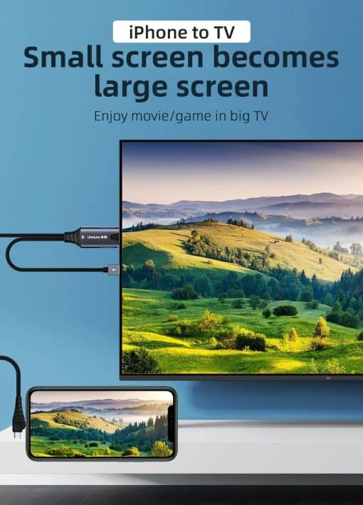 4K iOS To HDMI Cable Display 02