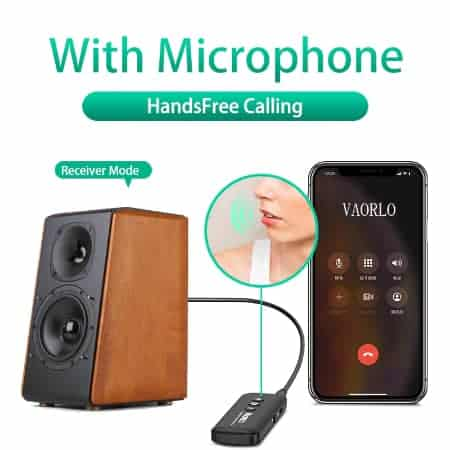 Bluetooth 5.0 Audio Transmitter Receiver - ZF-360B 4 in 1-02