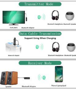 Bluetooth 5.0 Audio Transmitter Receiver - ZF-360B 4 in 1-03
