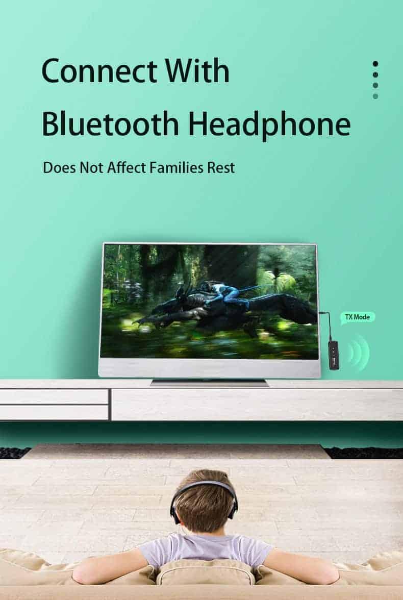 Bluetooth 5.0 Audio Transmitter Receiver - ZF-360B 4 in 1- discription-03
