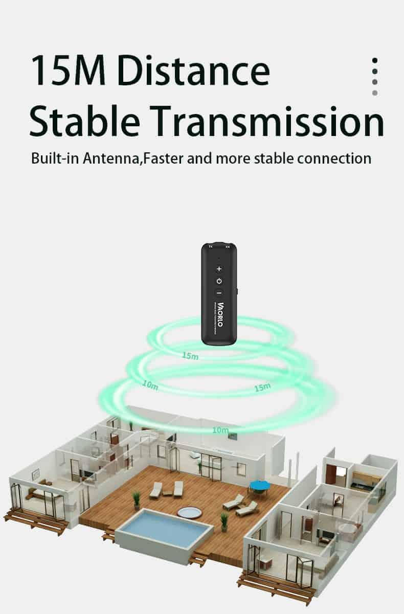 Bluetooth 5.0 Audio Transmitter Receiver - ZF-360B 4 in 1- discription-07